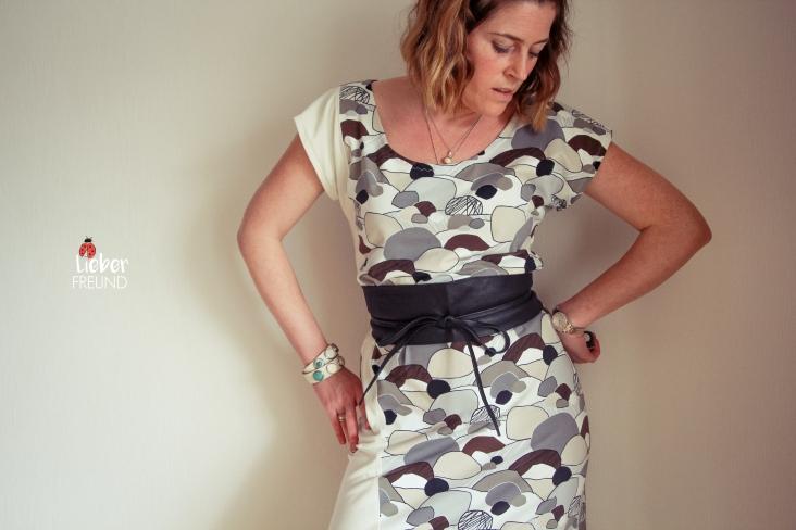 Tilt Women von kleiner Polli-Klecks als Maxikleid
