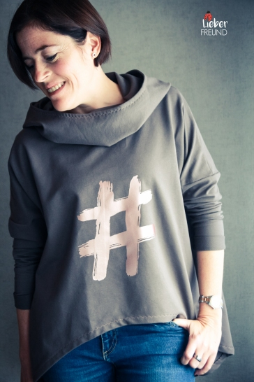 OversizeSHO!odie von SHO - Lieblingsshirt 2.0 Plott Plottdatei Fashion Signs von Kommplott